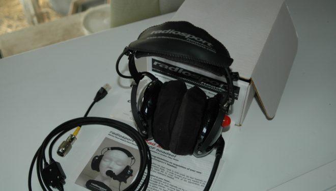 RADIOSPORT HEADSET, RS60CF, BOOM-MIKE, YAESU CABLE